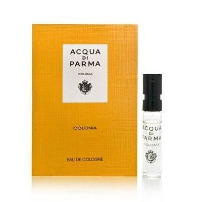 Colonia Acqua Di Parma .05 oz / 1.5 ml Eau De Cologne by Acqua Di Parma Colonia .05 oz / 1.5 ml Eau De Cologne. $5.68. Acqua Di Parma Colonia .07 oz / 2 ml Promo Size Eau De Cologne Mini Spray. Colonia Acqua Di Parma  Acqua Di Parma Colonia Eau De Cologne Acqua Di Parma Colonia .07 oz / 2 ml Promo Size Eau De Cologne Mini Spray  Colonia Intensa, the first Eau de Cologne purely for men from Acqua di Parma.  With classic and noble ingredients providing the perfec...