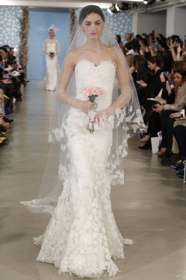 Oscar de la Renta 2014 Wedding Gowns | onefabday.com Keywords: #weddings #jevelweddingplanning Follow Us: www.jevelweddingplanning.com  www.facebook.com/jevelweddingplanning/