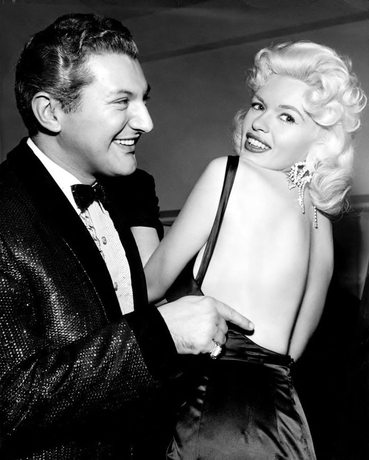 Jayne Mansfield and Liberace