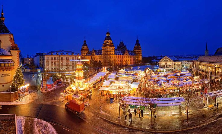 """One of the most beautiful Christmas markets in Germany is the romantic Christmas Market Bad Homburg at the Castle """"Landgrafenschloss,"""" which is surrounded by an historical setting. Description from europeantraveler.net. I searched for this on bing.com/images"""