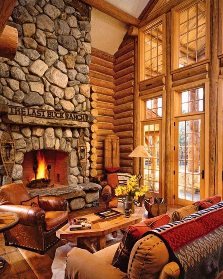 394 besten Log Home Interior & Decorating Bilder auf Pinterest ...