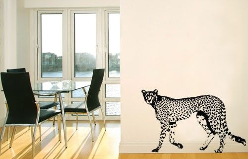 Cheetah vinyl wall sticker from Fantastick Wall Décor (South Africa)  #cheetah #southafrica