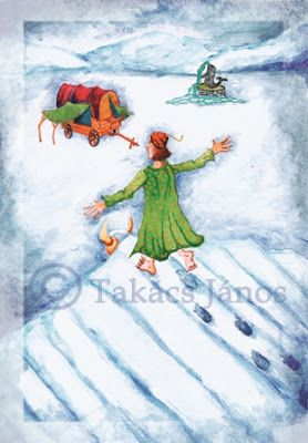 #illustration #winter #cold by Janos Takacs