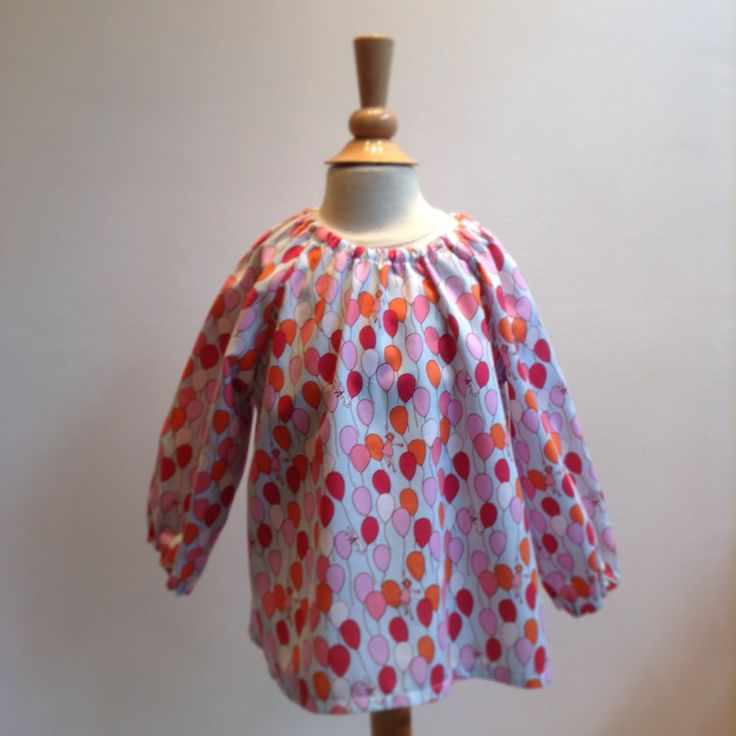 Birthday balloon blouse  Sasti