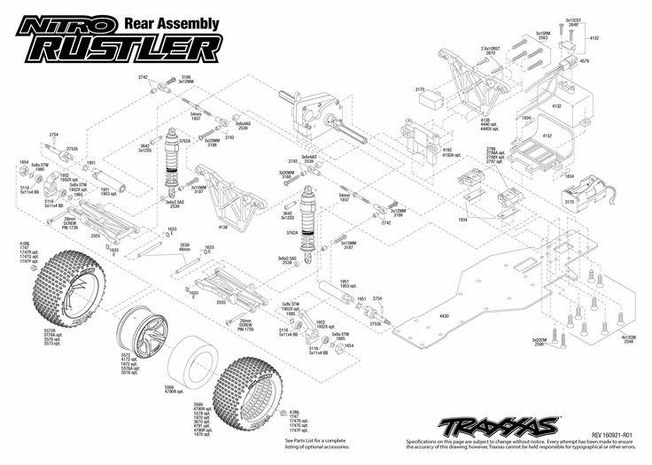 Rustler Vxl Parts Diagram Nemetasfgegabeltfo
