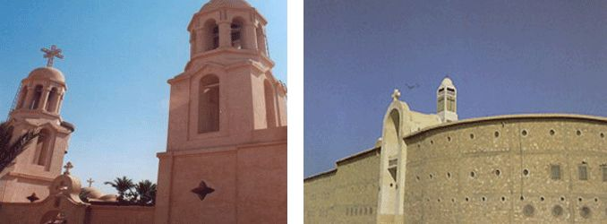 Monumentos coptos, Egipto