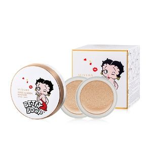 Korean [MISSHA] M Magic Cushion Moisture Betty Boop Edition Special Set [No.23] 15*3「koreabuys.com」