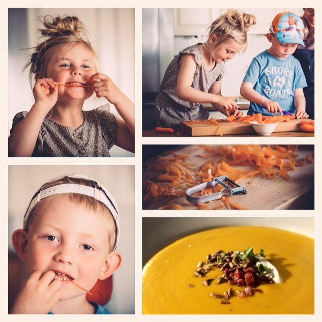 Spicy Gulerodssuppe | Kreamors Køkken