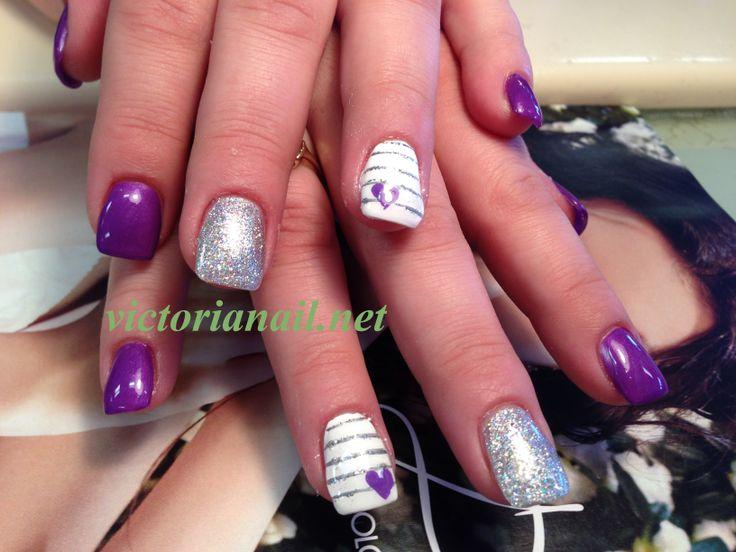 118 Best Hand Paint Nails Art Design Images On Pinterest Nail Art