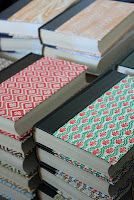 How to make a notebook out of an old hardback
