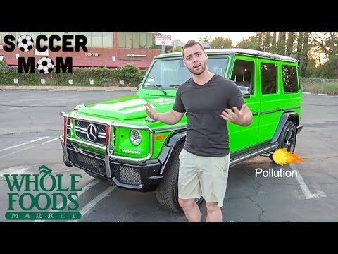 HOW TO PROPERLY USE A MERCEDES G-WAGON (Parody)