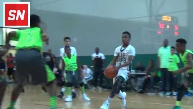LeBron James Jr. has skills like his dad