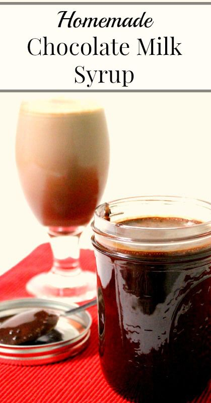 Homemade Chocolate Milk Syrup  {No refined sugar, four simple ingredients, Real Food, Primal, Vegetarian}