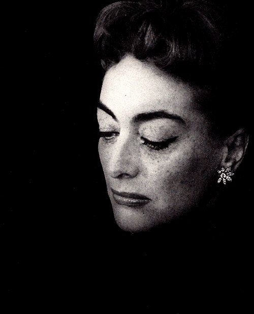 Joan Crawford photographed by Cecil Beaton, 1956