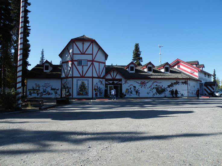 Santa Claus House North Pole Alaska a Christmas wonderland inside