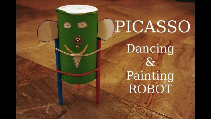 Picasso - tańczący i malujący robot (Tutorial)
