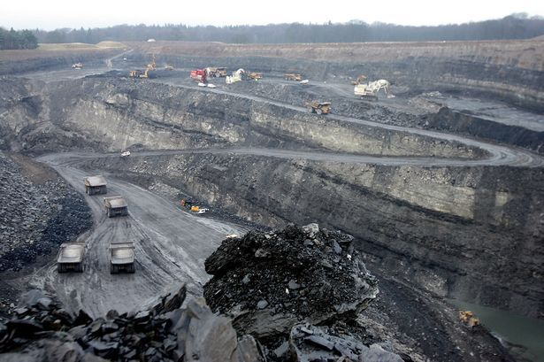 East Chevington Opencast Site- Amazing formations in the ground