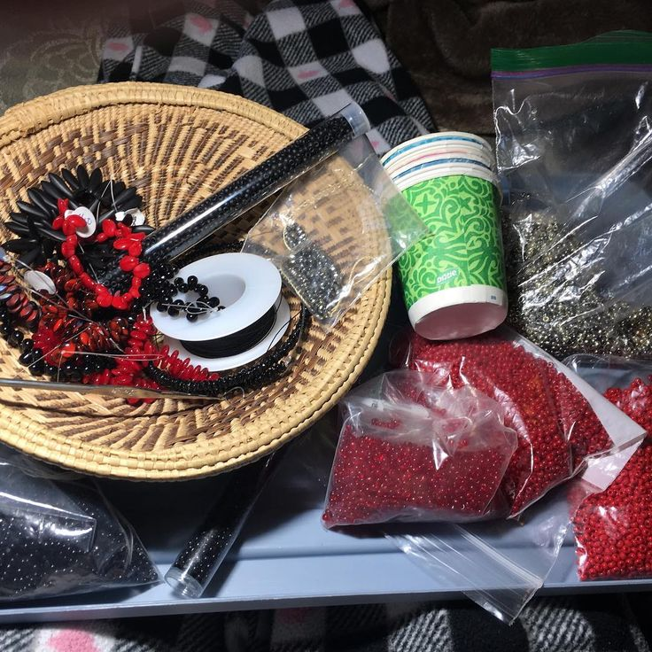 We on Facebook: http://ift.tt/2jRHDjd Beautiful Beaded Jewelry #underbeads by @underbeads Check our #AmazingPhoto WEBSTA: Ingredients gathered for my next bead crochet lariat. #beadcrochet #gettingreadyforshows #handmadejewelry