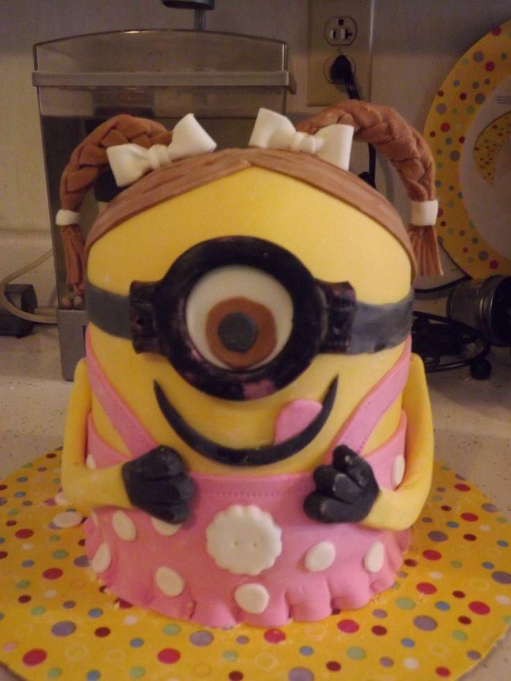 Girl Minion Cake Images : Girl Minion Cake I Made My Cakes Pinterest Girl ...