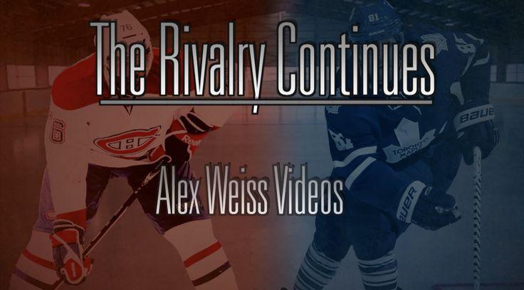The Rivalry Continues - Toronto Maple Leafs Vs Montreal Canadiens -   #Habs #Montreal #Toronto #MapleLeafs #NHL #Rivalry