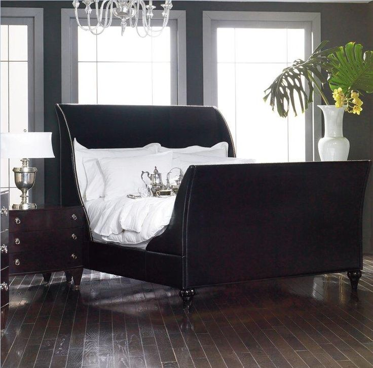 Best 25 Black sleigh beds ideas only on Pinterest Cherry wood