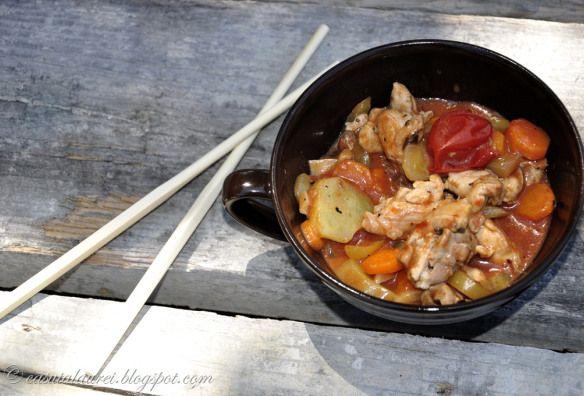 Pui dulce-acrisor–chinese style