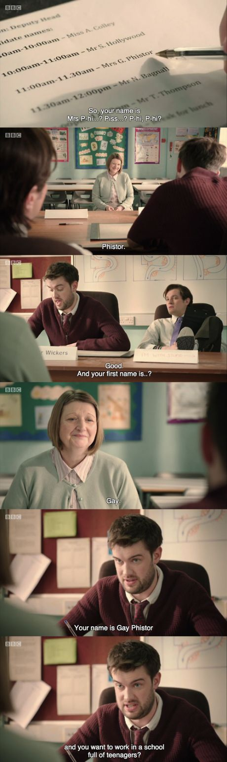 Nothing like 'Bad Education'