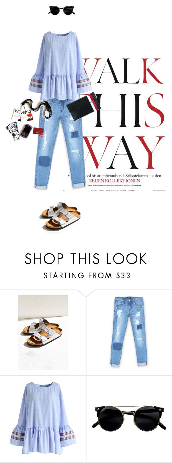 """so ugly"" by natyleygam ❤ liked on Polyvore featuring Anja, Birkenstock, Bebe, Chicwish, Tomasini, uglyshoes and walkthisway"