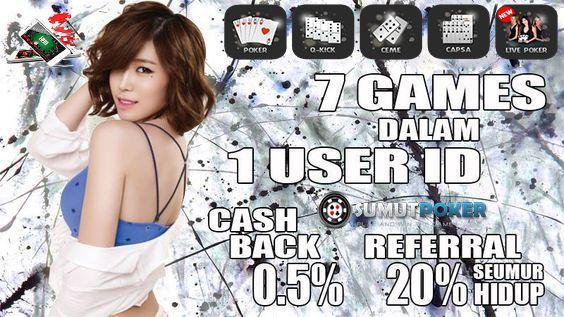 www.SumutPoker.com Telah Hadir Situs Agen Poker,BandarQ,Domino99, Capsa Susun dan AduQ Terpercaya di Indonesia dan Terbesar di Asia.