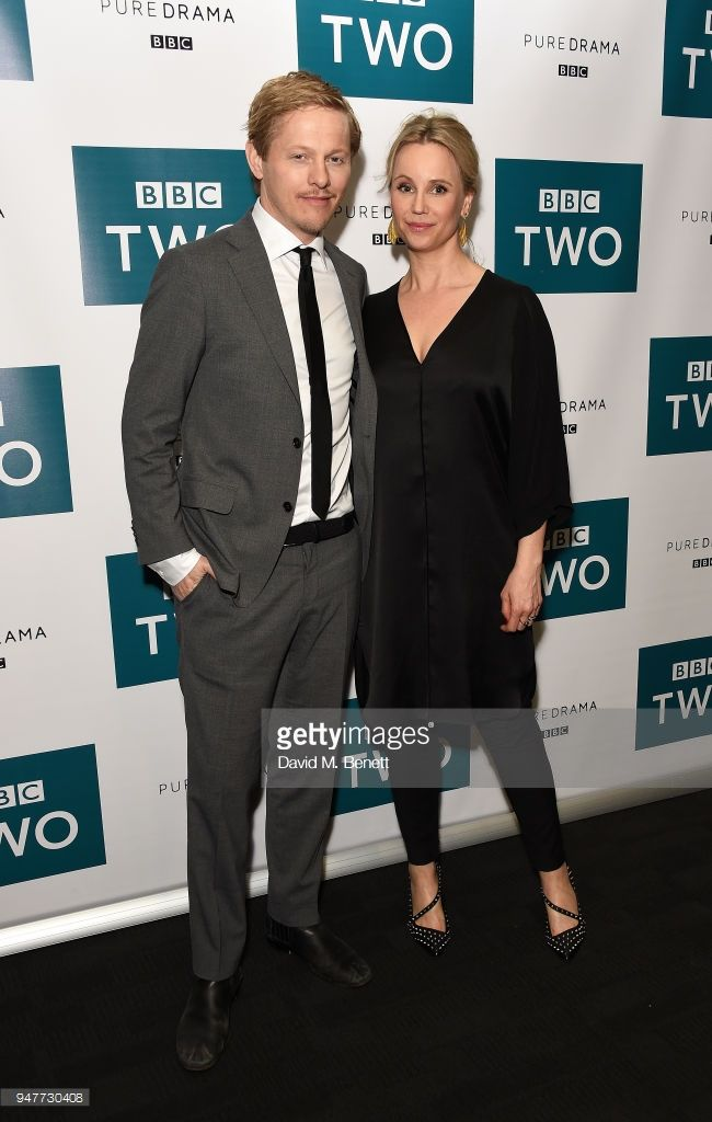 Thure Lindhard and Sofia Helin attend a special screening of the final  series of BBC drama