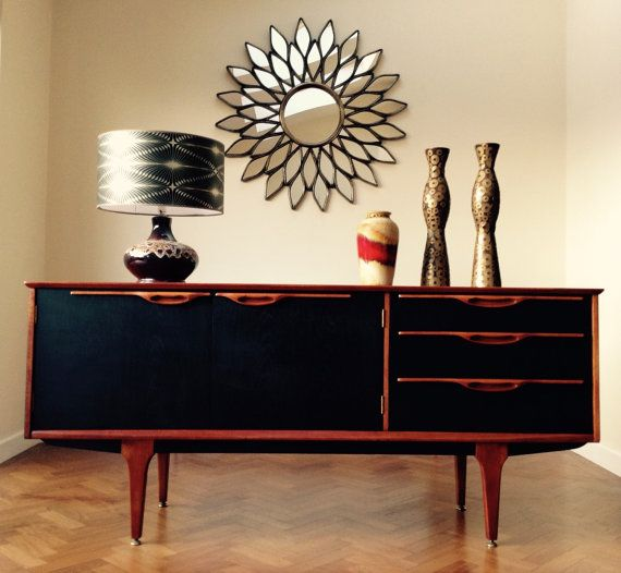 RETRO MIDCENTURY SIDEBOARD For Sale in by NickyTurnerCreations