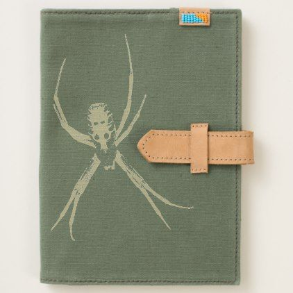 Argiope Garden Spider Canvas Journal - office ideas diy customize special