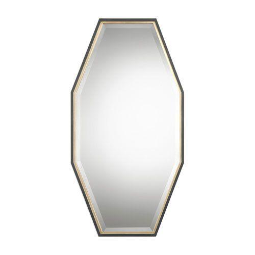 Savion Gold Octagon Mirror