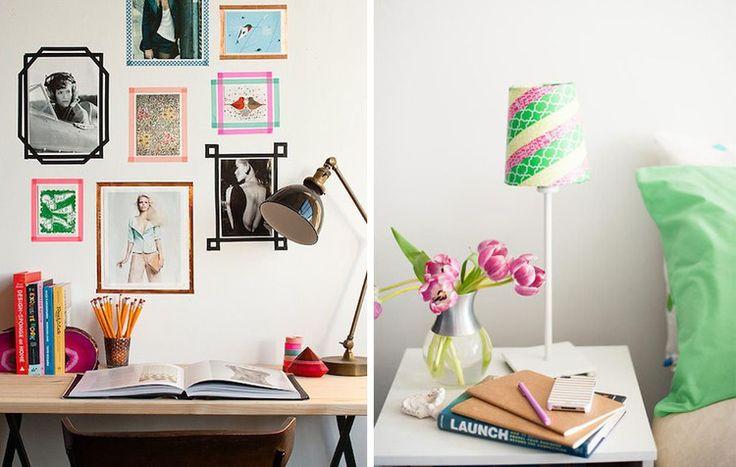 die besten 25 washi bandframe ideen auf pinterest abdeckband wand washi band wand und washi. Black Bedroom Furniture Sets. Home Design Ideas