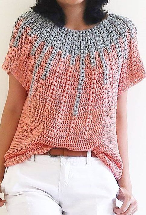 Cute and Easy Stylish Sweater & Cardigan Crochet Patterns Images for 2019 Part 6