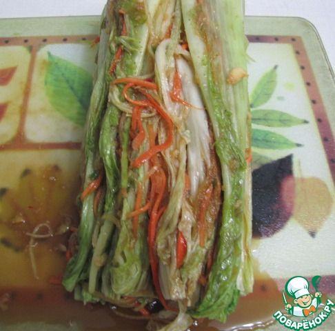 Кимчхи (кимчи) из пекинской капусты ингредиенты