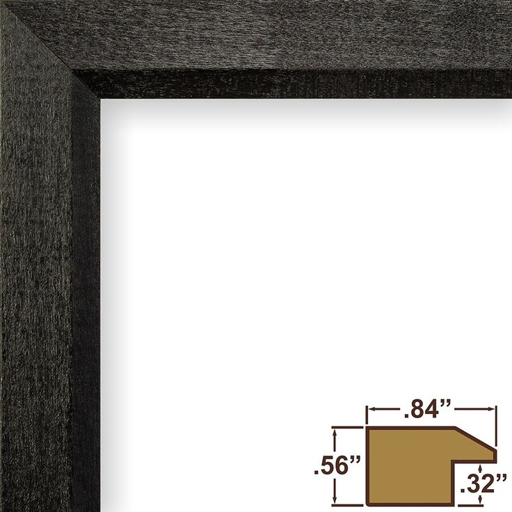Amazon.com: Craig Frames 7171610BK 24 by 36-Inch Poster Frame, Solid Wood, .84-Inch Wide, Black: Home & Kitchen