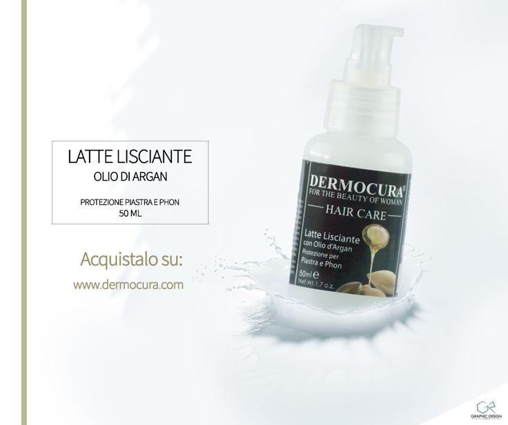 GR Graphic and Web Design for Dermocura - Cosmetics Latte Lisciante