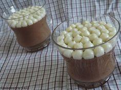 Kipróbált és bevált receptek: Csokihab, fehércsokis tejfölkrémmel