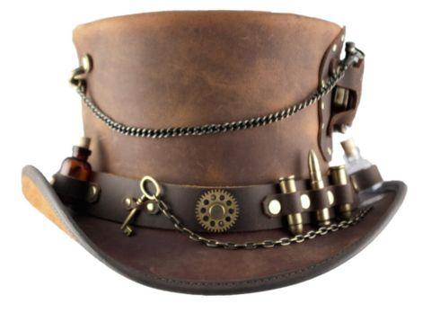 Intricate Time Port Steampunk Hat! Size M/L