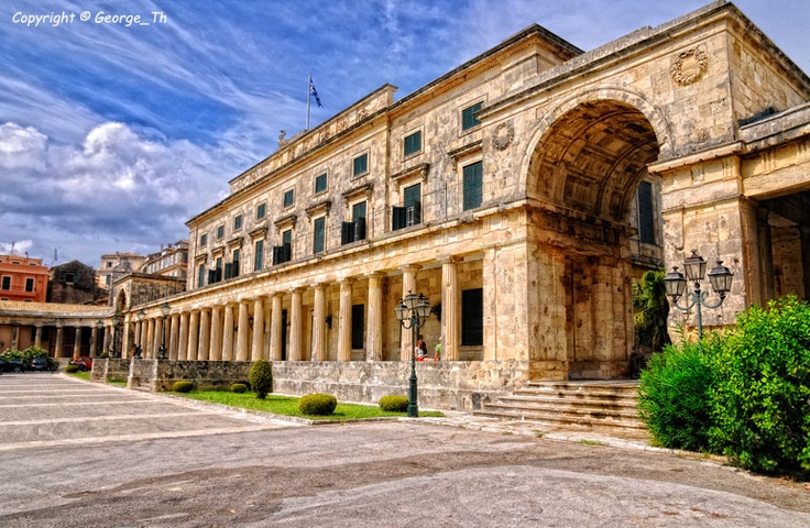 GREECE CHANNEL | The Palace, Corfu Island, Greece by George Theodorakopoulos