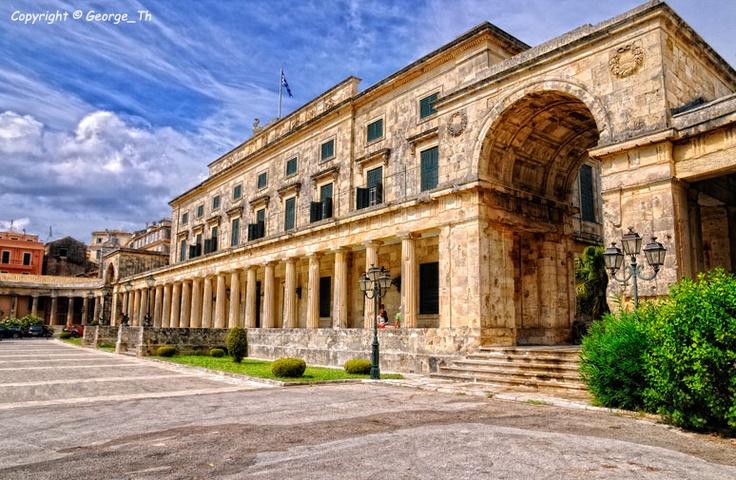 GREECE CHANNEL | The Palace, Corfu Island, Greece by George Theodorakopoulos