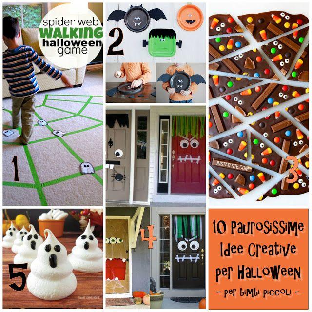 10 Paurosissime Idee Creative per Halloween - per bimbi piccoli