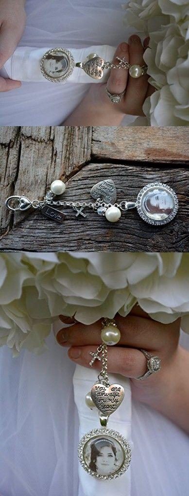 Bridal Bouquet Charm, Wedding Bouquet Pendant, Bridal Accessories