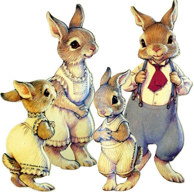 Hopper Family Paper Dolls, via Stampington & Company