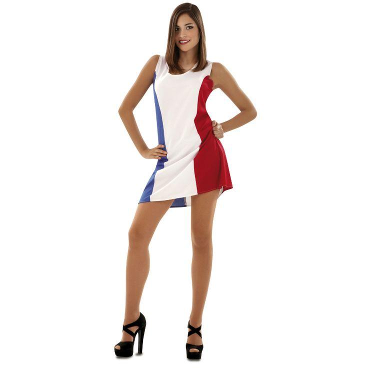 Costume Drapeau Français #déguisementsadultes #costumespouradultes