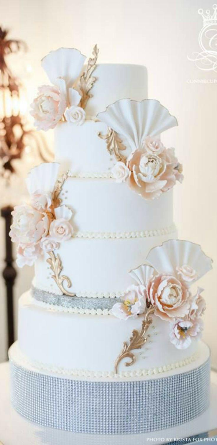 120 best WEDDING CAKES ✿⊱╮ images on Pinterest   Cake wedding ...