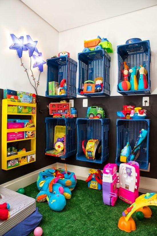 Casa - Decoração - Reciclados: Brinquedoteca - o Paraíso dos Baixinhos!