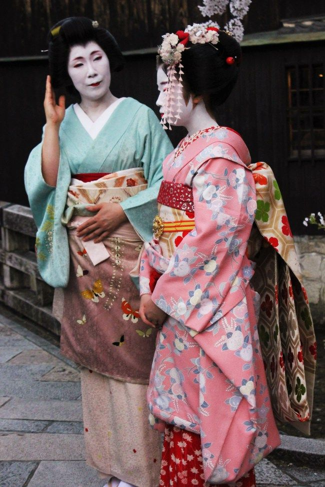 Kyoto, geisha, Japan