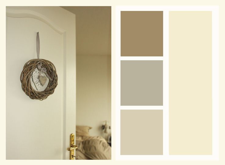 The color palette of the room